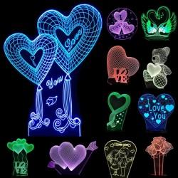 Lampe LED personnalisée